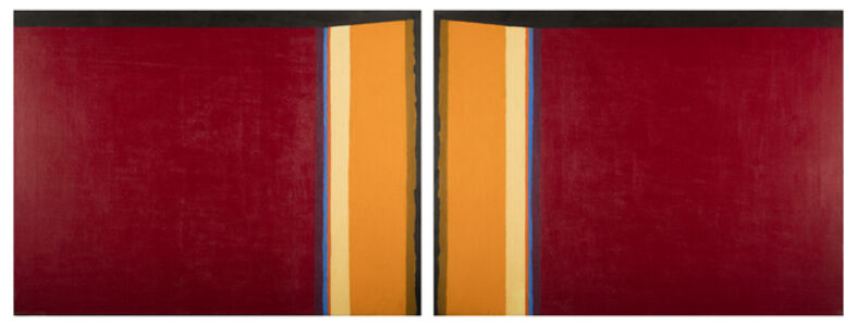 Ruth Eckstein, 'Portals I (Black Fields VII)', 1980