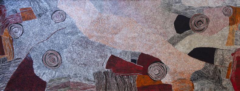 Bill Whiskey Tjapaltjarri, 'Rockholes Near the Olgas', 2007