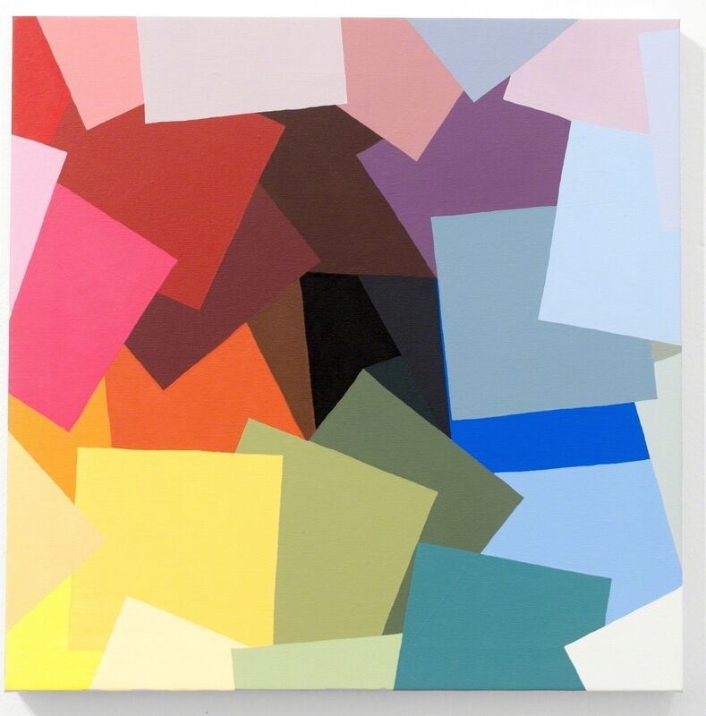 Alberonero, 'Frammenti', 2017, Painting, Acrylic on canvas, MAGMA gallery