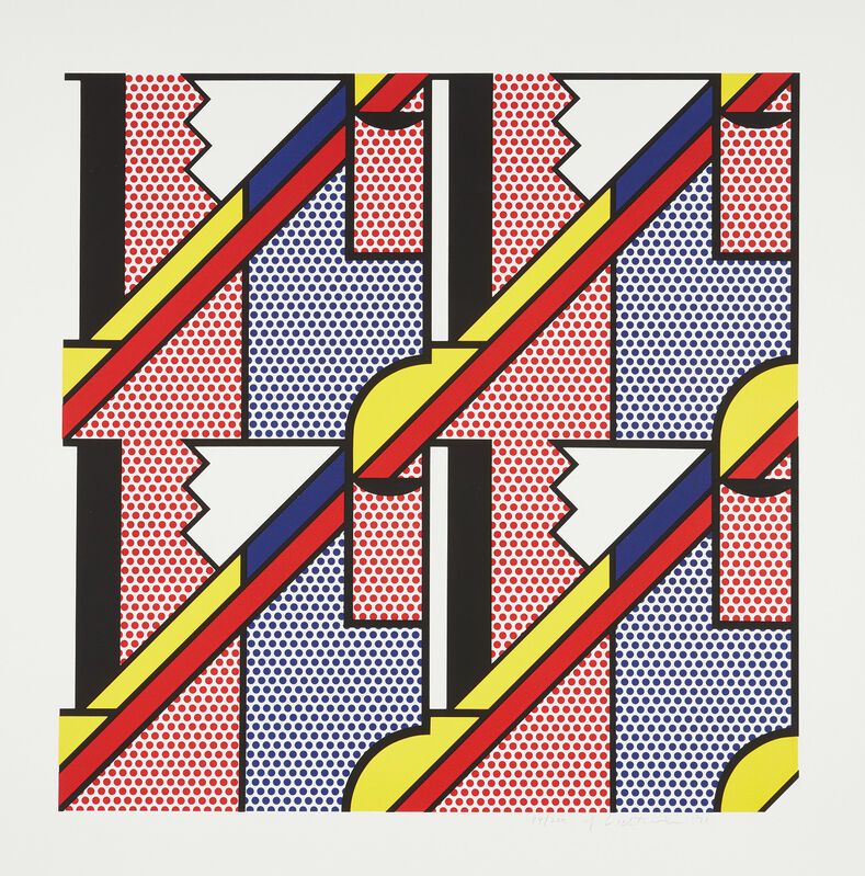 Roy Lichtenstein, 'Modern Print', 1970, Print, Lithograph and screenprint in colors, on Arjomari paper, with margins., Phillips