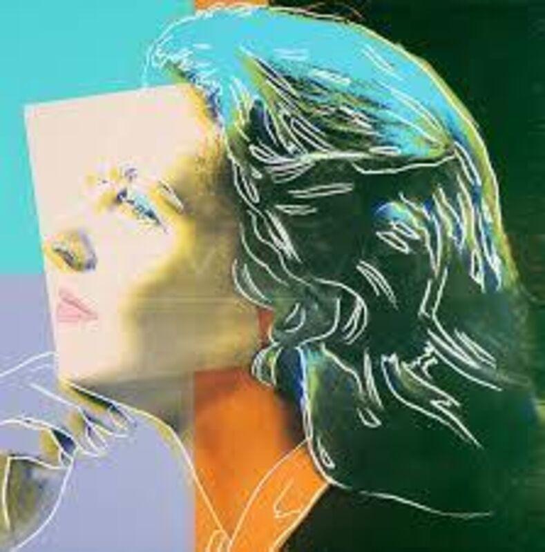 Andy Warhol, 'Ingrid BergmanHerself', 1983, Print, Screenprint, Adamar Fine Arts