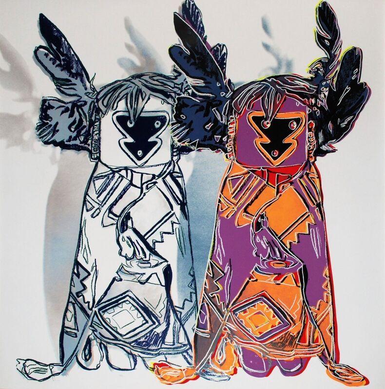 Andy Warhol, 'Kachina Dolls (FS II.381) ', 1986, Print, Screenprint on Lenox Museum Board, Revolver Gallery