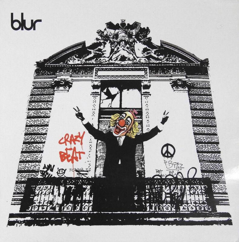 Banksy, 'Crazy Beat', 2003, Mixed Media, Vinyl record album cover, EHC Fine Art