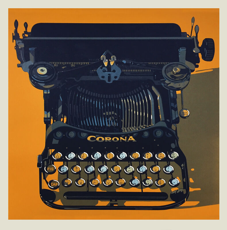 Robert Cottingham, 'CORONA', 2015, Print, Woodcut, Tandem Press