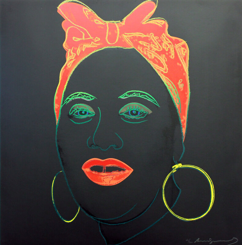 Andy Warhol, 'Mammy (FS II.262)', 1981, Print, Screenprint on Lenox Museum Board,  signed and numbered in pencil. All regular edition prints have diamond dust, Gormleys Fine Art