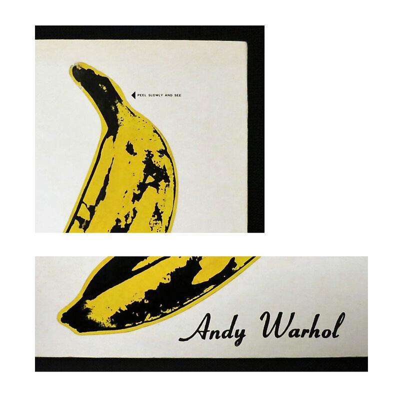 "Andy Warhol, 'RARE NEAR MINT, ""Andy Warhol"", Velvet Underground & Nico, UN-PEELED Banana Sticker Cover, Album LP, RARE NEAR MINT CONDITION', 1967, Ephemera or Merchandise, Un-Peeled Banana Sticker on Album Cover, VINCE fine arts/ephemera"