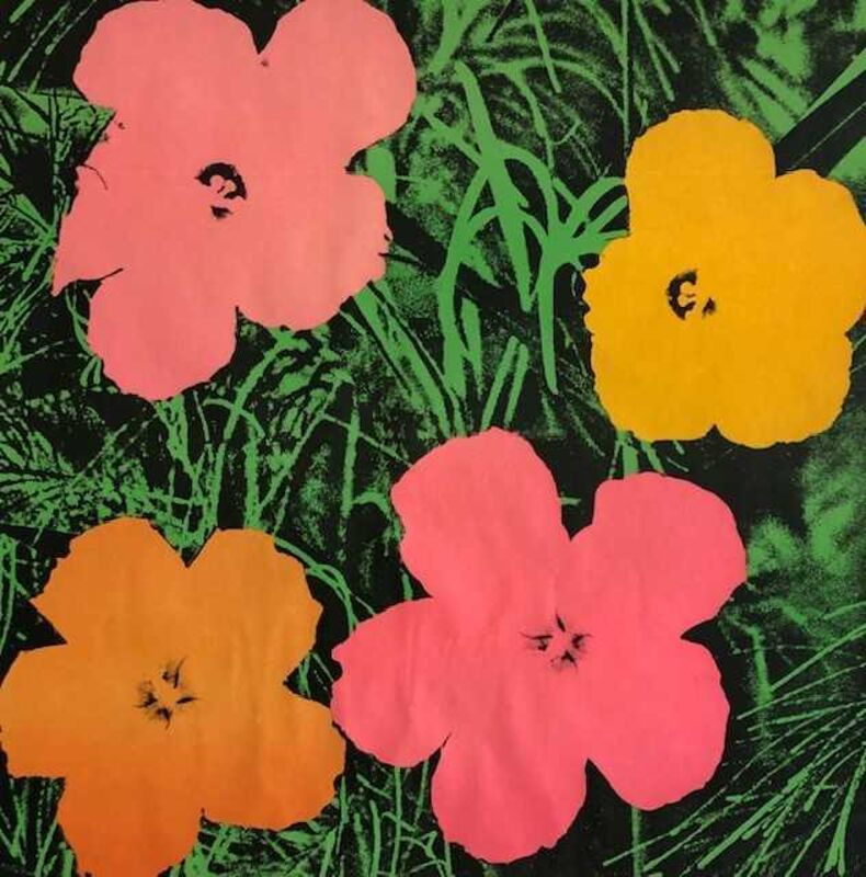 Andy Warhol, 'Flowers', 1964, Print, Offset lithograph on wove paper, New River Fine Art