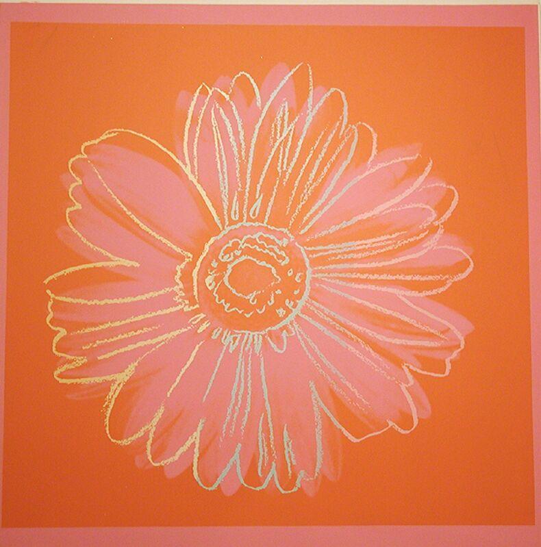 Andy Warhol, 'Daisy', 1982, Print, Unique silkscreen on Lenox Museum Board, Woodward Gallery