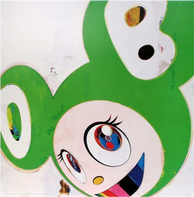 Takashi Murakami, 'AND THEN THE GREEN TRUTH', 2006, Print, Offset lithograph on paper, Marcel Katz Art