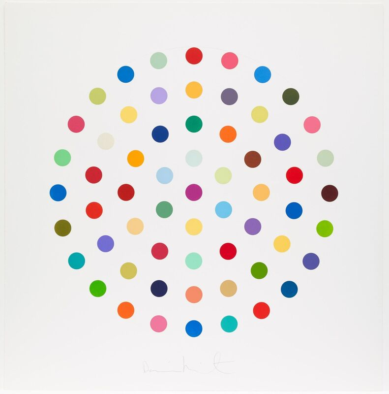 Damien Hirst, 'Cineole', 2004, Print, Etching with aquatint in colours, on Hahnemühle paper, RAW Editions
