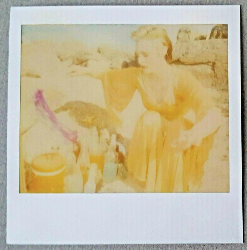 Stefanie Schneider, 'Untitled - Genie Scene (29 Palms, CA) - Unique piece', 2008, Photography, Unique Spectra Polaroid, Instantdreams