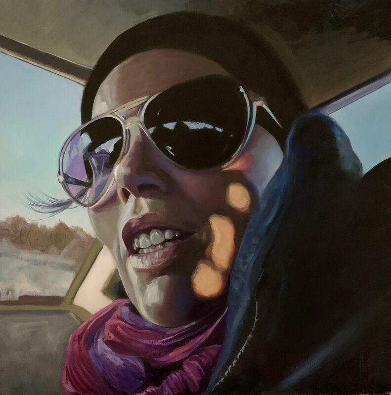 Ellen Starr Lyon, 'Front Seat', 2020, Painting, Oil, 33 Contemporary
