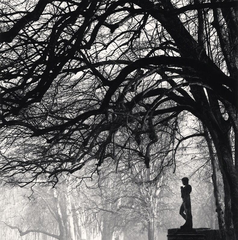 Michael Kenna, 'One Who Watches - Courances, France.', 1997, Photography, Sepia toned silver gelatin print, Galeria de Babel