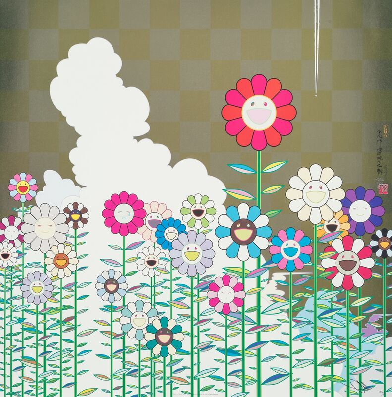 Takashi Murakami, 'POKA POKA: Warm and Sunny', 2011, Print, Offset lithograph in colors on smooth wove paper, Heritage Auctions