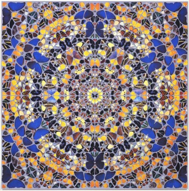 Damien Hirst, 'St Peters Cathedral', 2007, Print, Silkscreen Print with Glaze and Pearl Colours, Gormleys Fine Art
