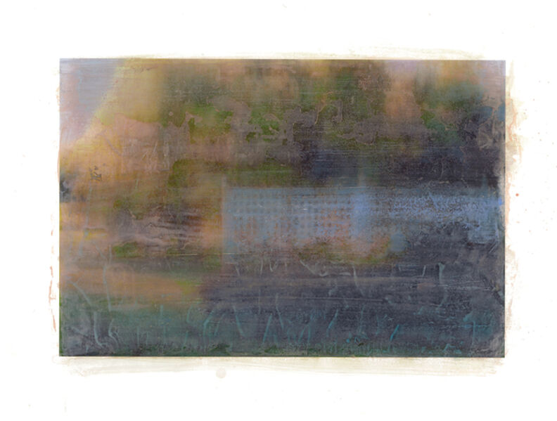 Ellen Phelan, 'Blue Trellis II', 2008
