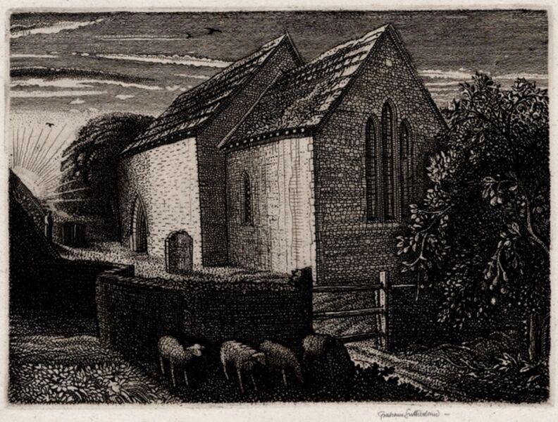 Graham Vivien Sutherland, 'Meadow Chapel', 1928