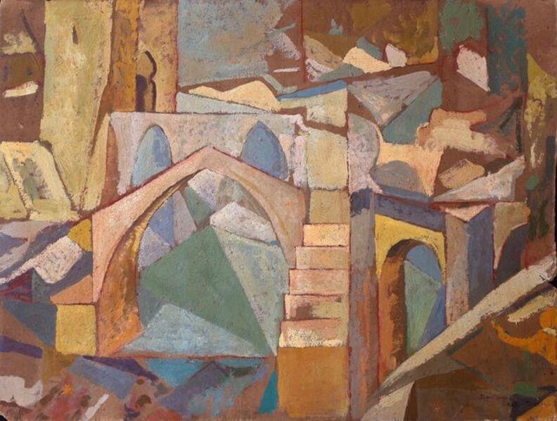 Diego Rivera, 'Puente de Toledo', 1913