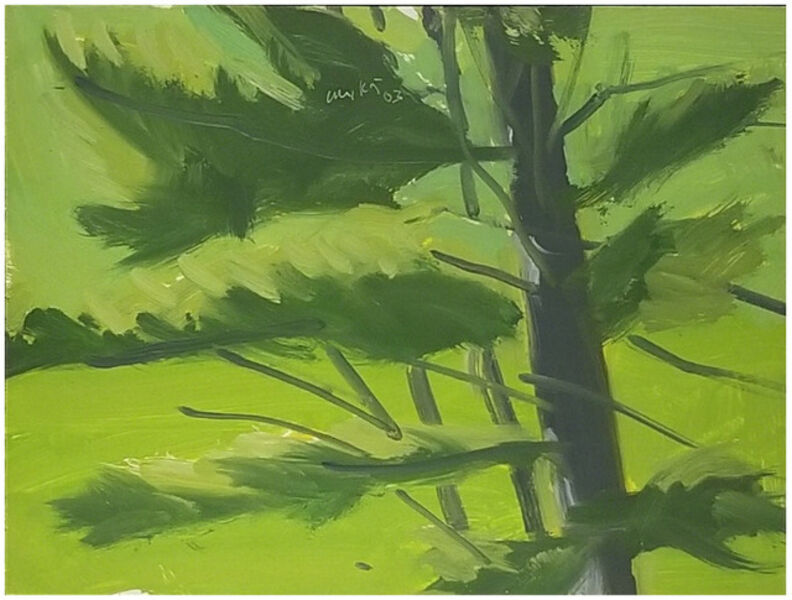 Alex Katz, 'Untitled', 2002