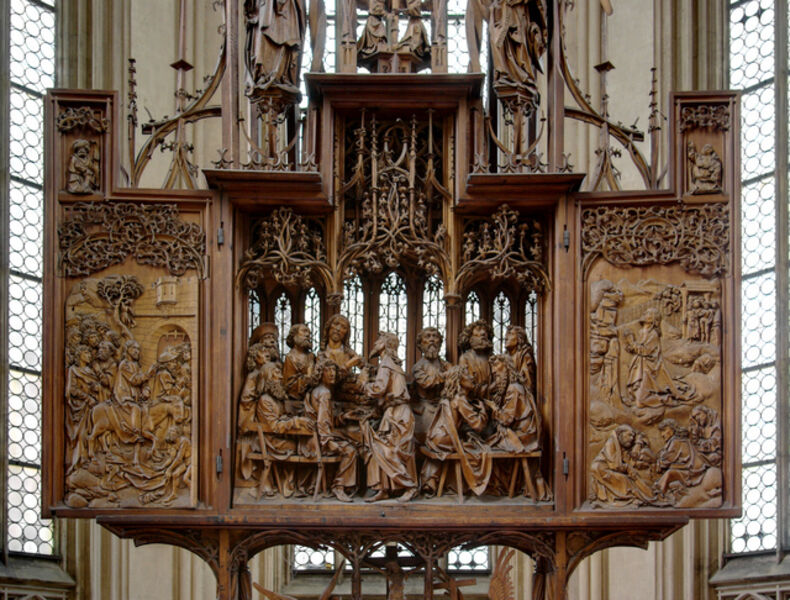 Tilman Riemenschneider, 'Altarpiece of the Holy Blood (wings open)', ca. 1499-1505