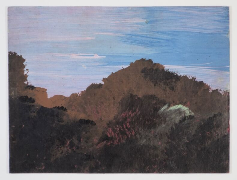 Frank Walter, 'Landscape with Mountain and PInk Sky', 1926 -2006