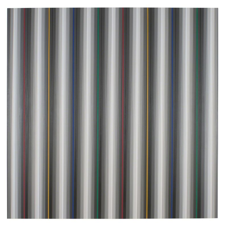 Gabriele Evertz, 'Eight Grays + RYBG (After-Glow)', 2012, Painting, Acrylic on canvas, Minus Space