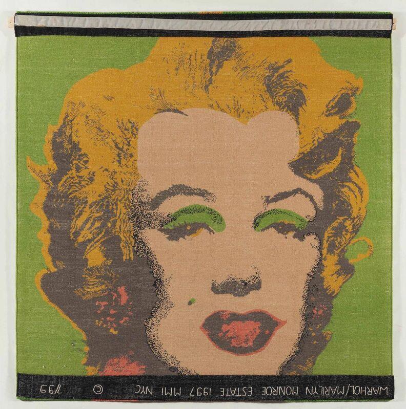 Andy Warhol, 'Marilyn Monroe', 1997, Textile Arts, Tapestry, Van Ham