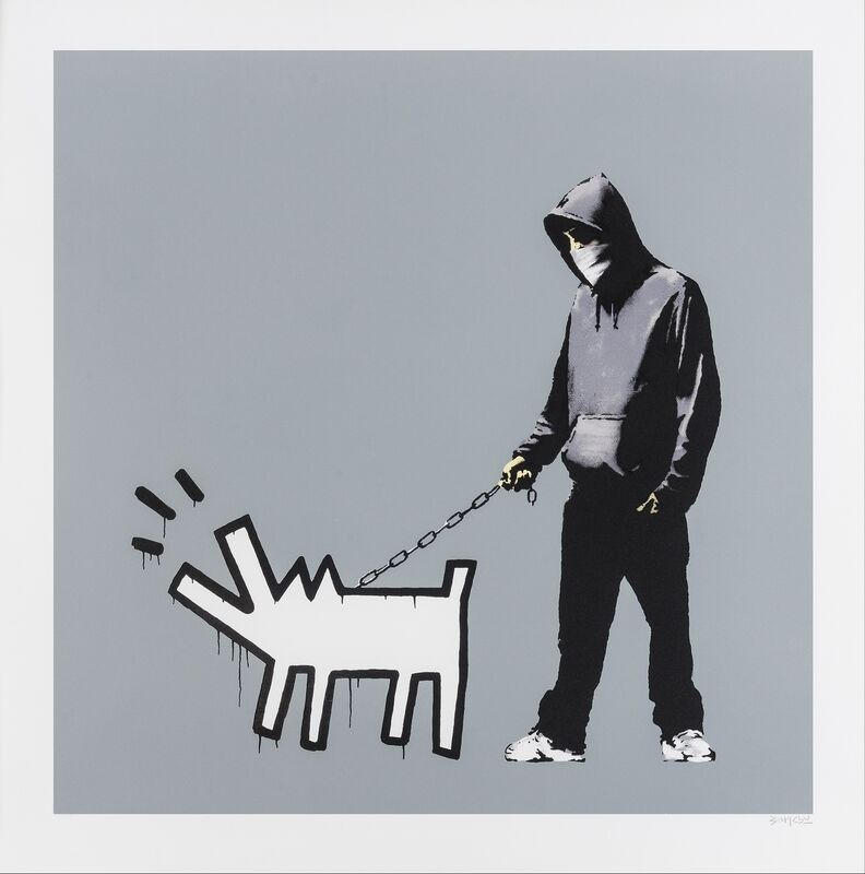 Banksy, 'Choose your weapon (Cool Grey)', 2010, Print, Screenprint in colours, Forum Auctions