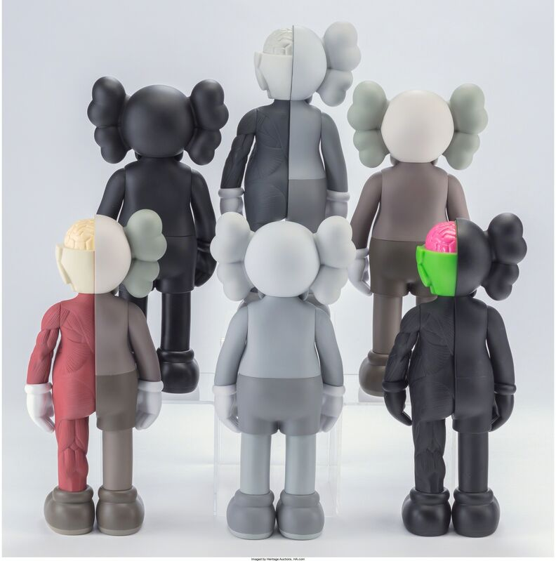 KAWS, 'Companion (Open Edition) (set of six)', 2016, Other, Painted cast vinyl, Heritage Auctions