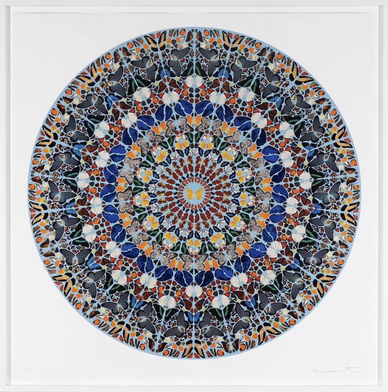 Damien Hirst, 'Mantra with Diamond Dust ', 2011, Print, Silkscreen, Diamond Dust, Arton Contemporary