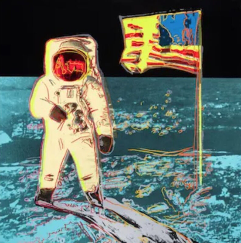 Andy Warhol, 'Moonwalk F.S. II 404', 1987, Print, Screen print, Lush Art Agency