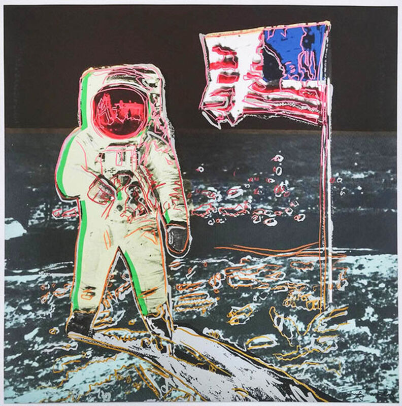 Andy Warhol, 'MOONWALK FS II.404-405 TP', 1987, Print, Screenprint on Lenox Museum Board, Marcel Katz Art
