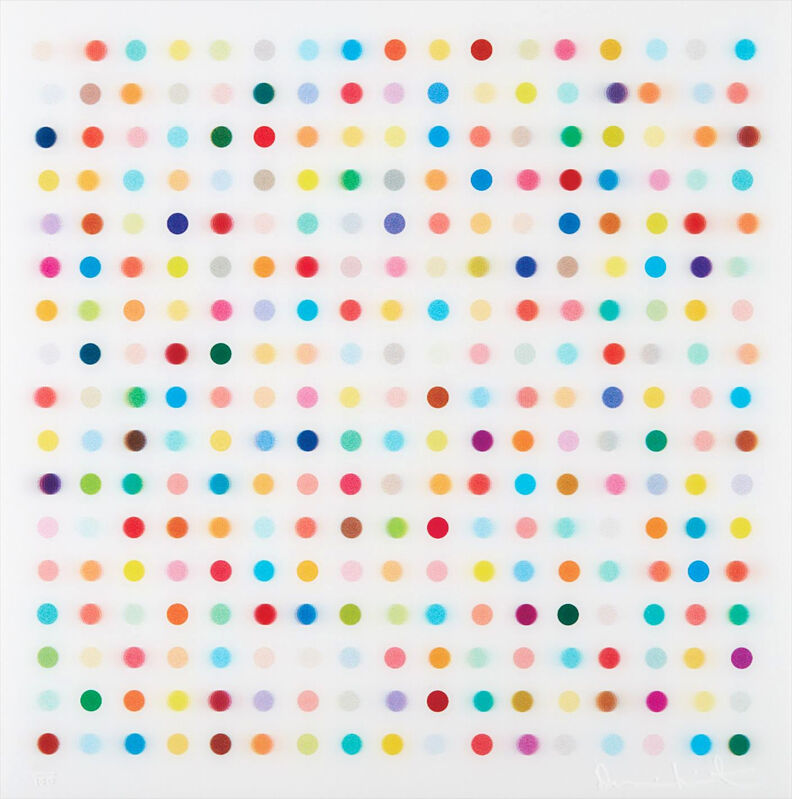 Damien Hirst, 'Mescaline', 2014, Print, Lenticular, Oliver Clatworthy Gallery Auction