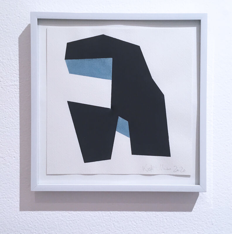 Kati Vilim, 'Almost Objectified I', 2020, Drawing, Collage or other Work on Paper, Watercolor on paper, Deep Space Gallery
