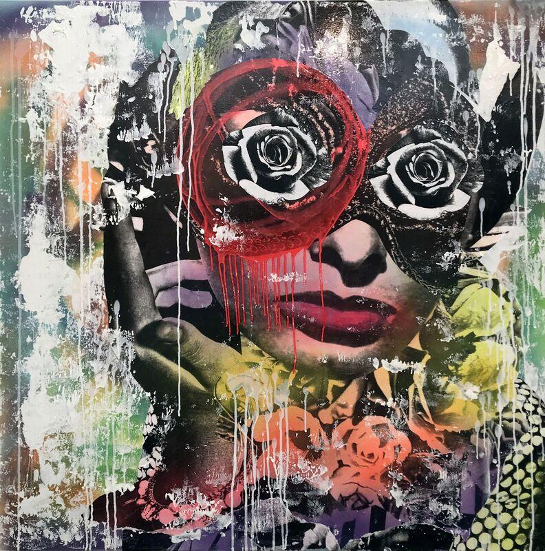 DAIN, 'Fun 16', 2019, Mixed Media on Canvas, DTR Modern Galleries