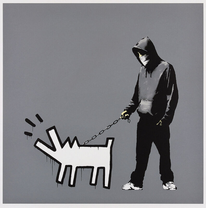 Banksy, 'Choose Your Weapon (Grey)', 2010, Print, Screen print in colours on wove paper, Tate Ward Auctions