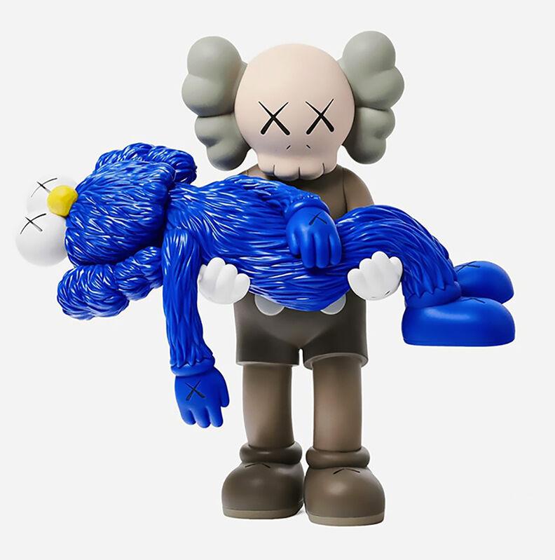 KAWS, 'KAWS GONE Companion Brown (Brown KAWS GONE)', 2019, Sculpture, Painted vinyl cast resin figurine., Lot 180