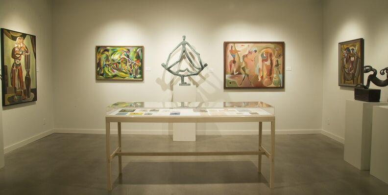TWO FORGOTTEN WOMEN OF AMERICAN MODERNISM: sculptor Mary Callery / painter Peter Miller, installation view