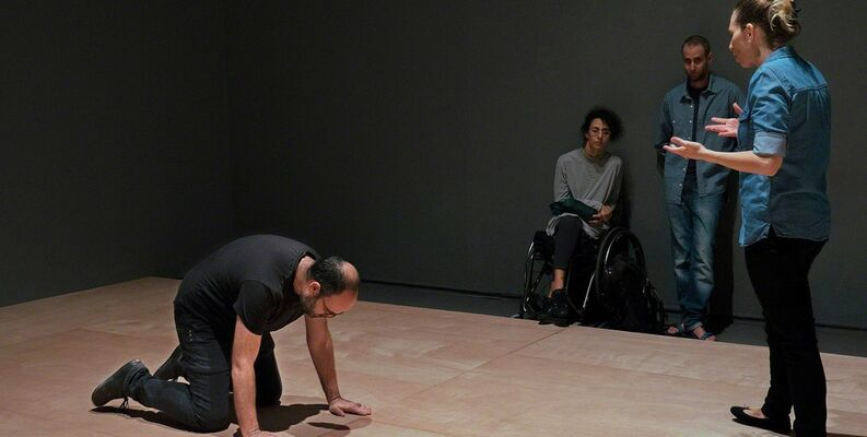 Conditions of Political Choreography, installation view
