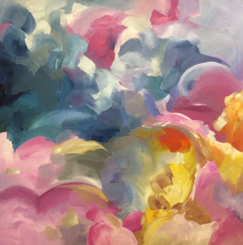 Liz Ashe, '25 Sunrises', Painting, Acrylic on canvas, Zenith Gallery
