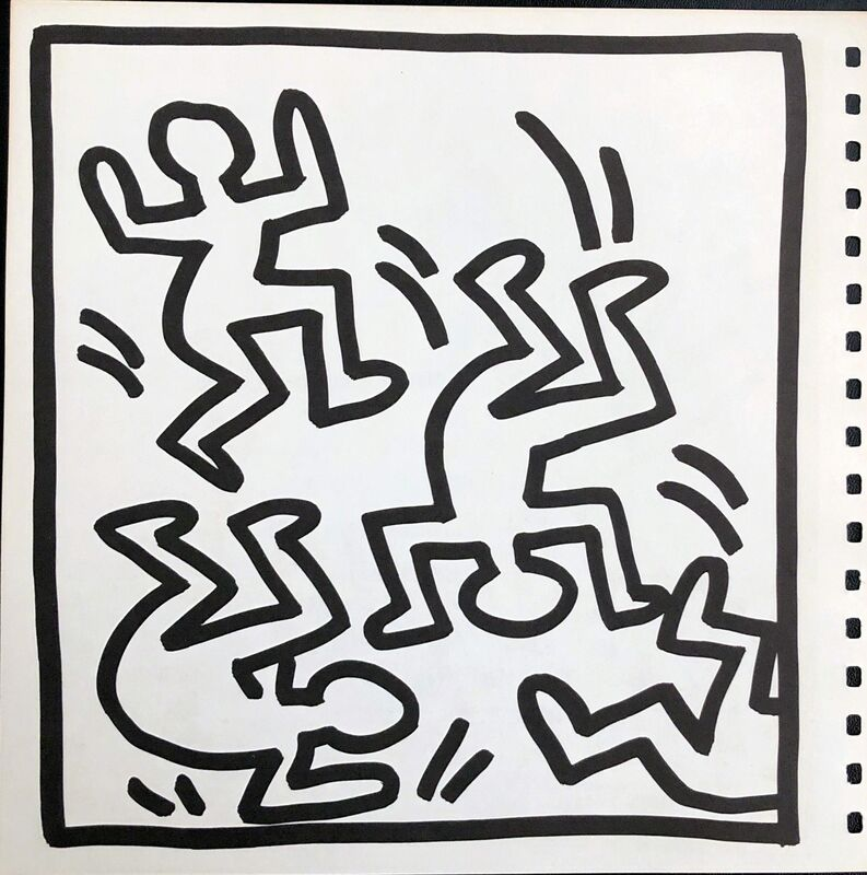 Keith Haring, 'Keith Haring (untitled) Barking Dog lithograph 1982', 1982, Posters, Offset lithograph, Lot 180