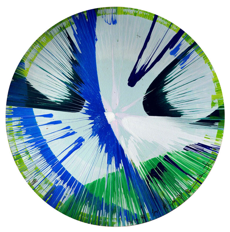 Damien Hirst, 'For Kliph Scurlock', 2010, Painting, Gouache and acrylic on paper, Rachael Cozad Fine Art