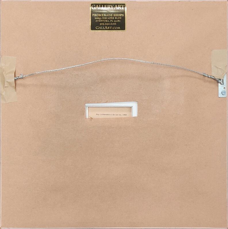 Roy Lichtenstein, 'Paper Plate', 1969, Print, Screen print, Gallery Art Gallery Auction