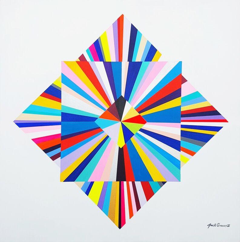 Jack Graves III, 'Diamond XXXIII', 2021, Painting, Acrylic Painting on Canvas, Graves International Art