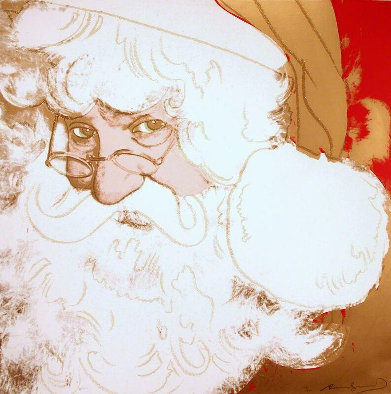 Andy Warhol, 'Santa Claus (FS II.266)', 1981, Print, Screenprint on Lenox Museum Board, Revolver Gallery