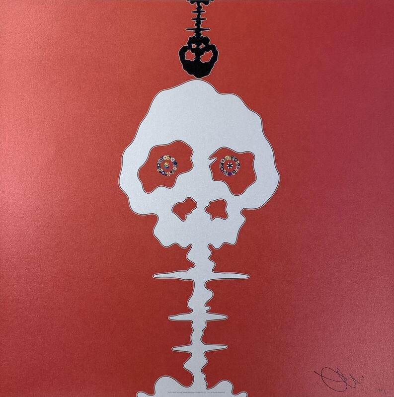 Takashi Murakami, 'Time Bokan-Red - Time', 2008, Print, Offset lithography, Art Works Paris Seoul Gallery