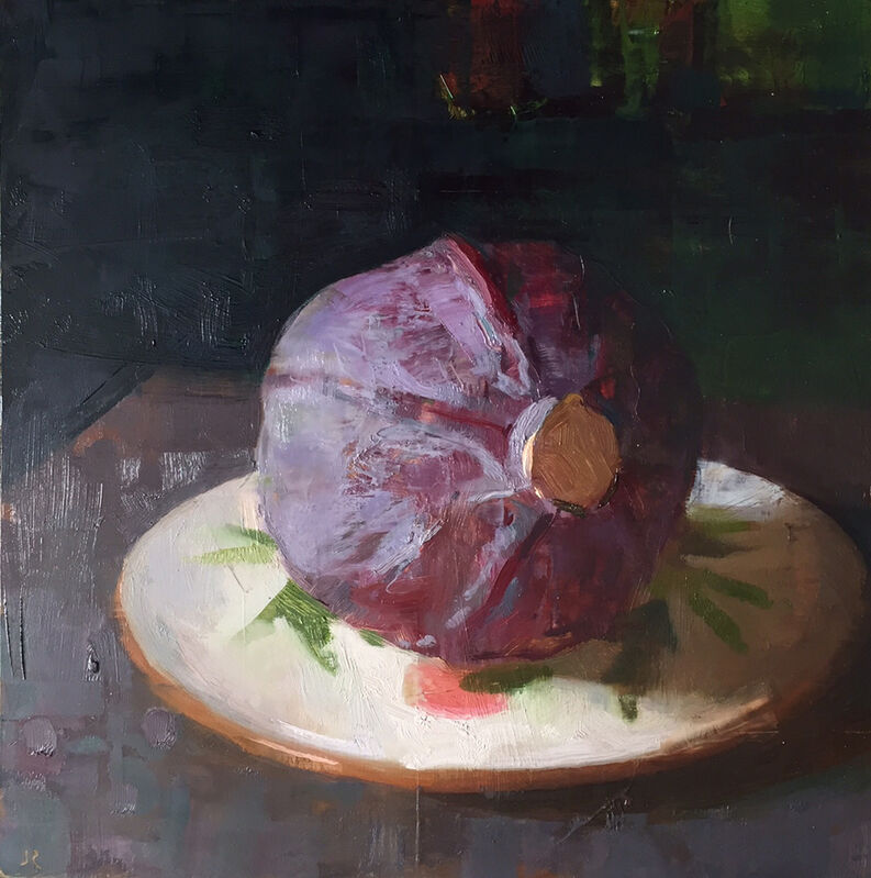 Jon Redmond, 'Cabbage', 2016, Painting, Oil on board, Somerville Manning Gallery