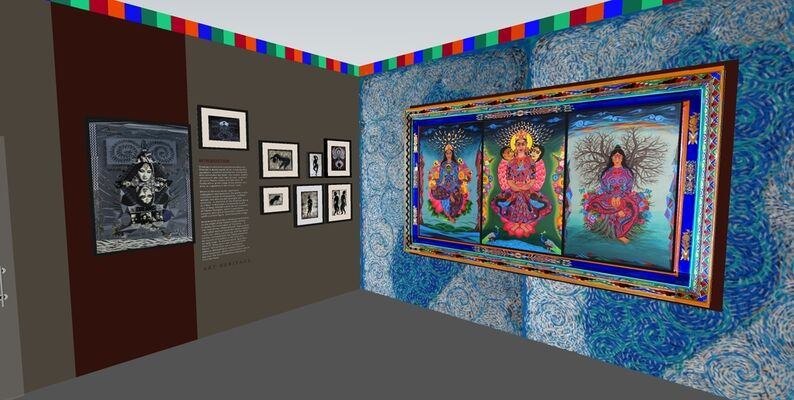 Kanchan Chander, installation view