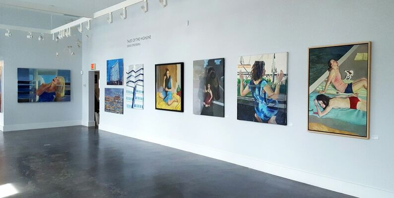 Serge Strosberg's Tales of the Highline, installation view