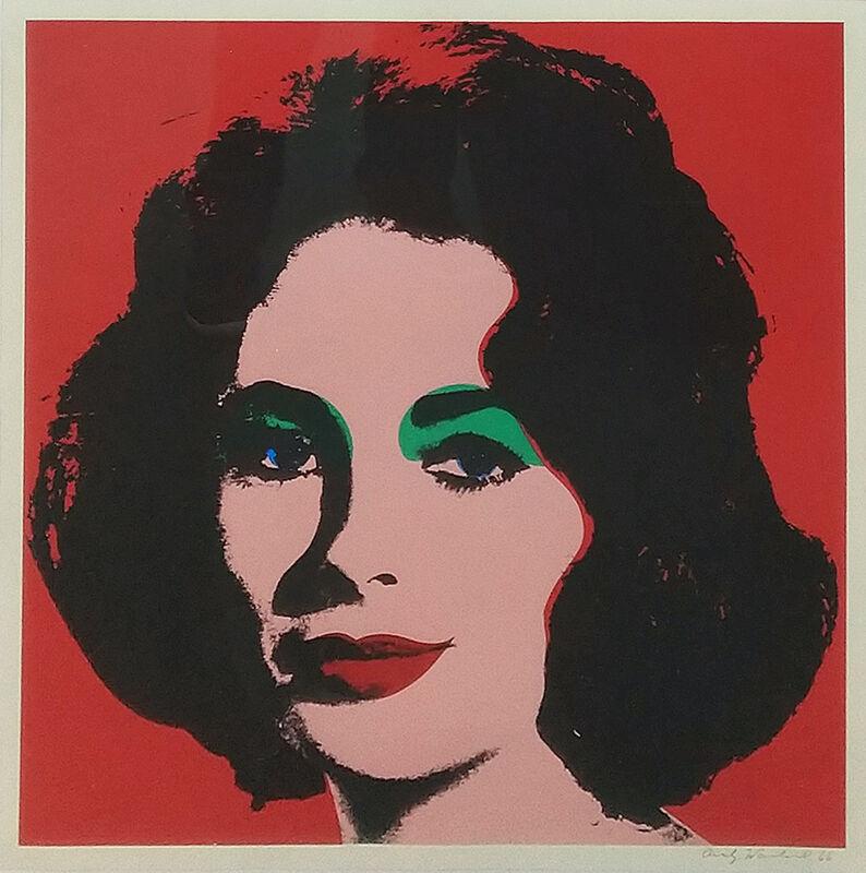 Andy Warhol, 'LIZ (FELDMAN & SCHELLMANN II.7)', 1964, Print, Offset lithograph printed in colors, Gallery Red